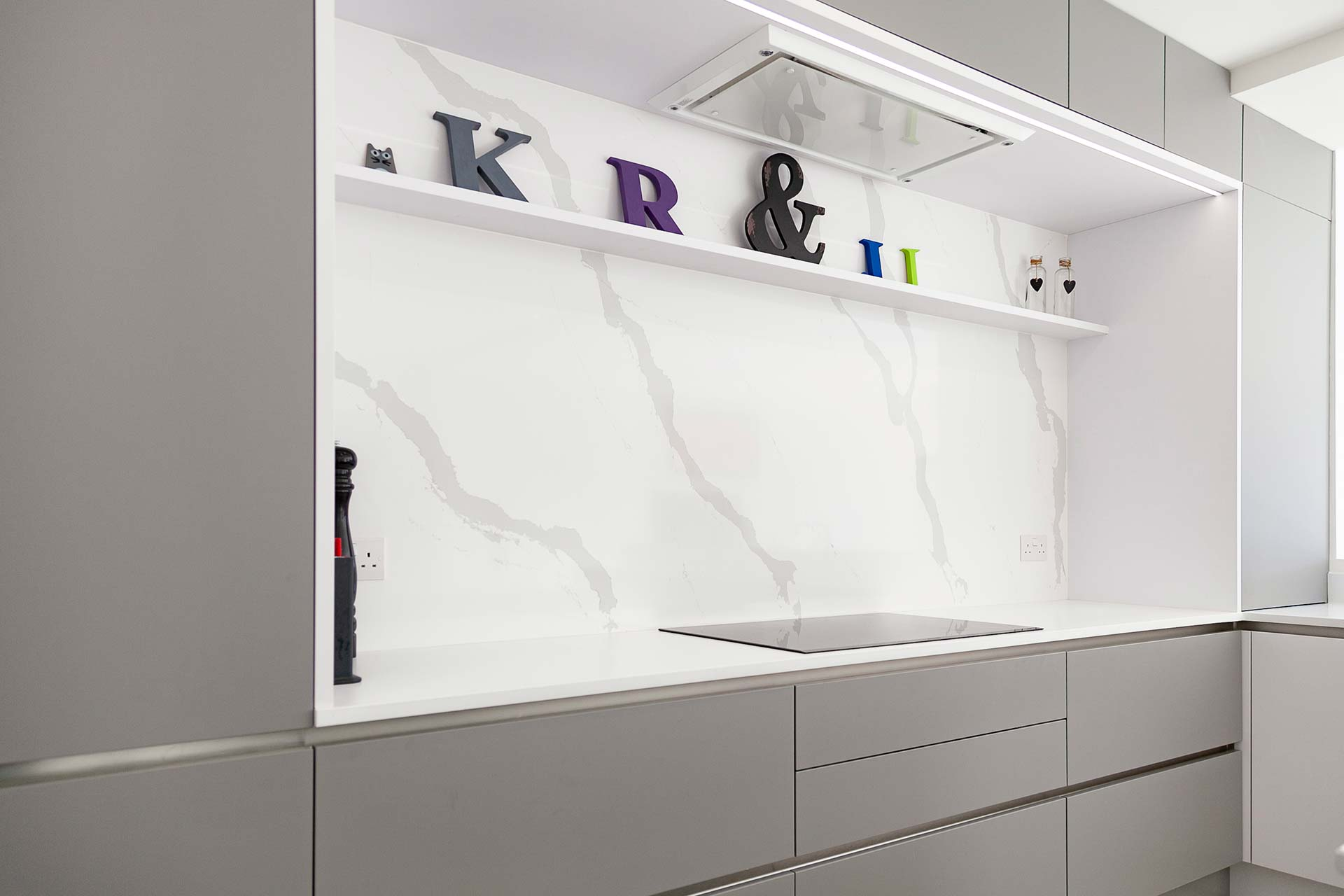 Contemporary Kitchens - Space Grey